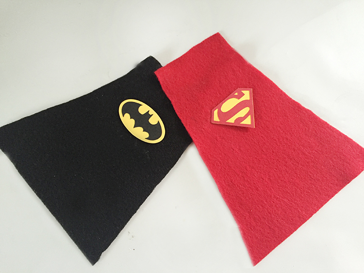 Use felt for capes
