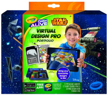 amazon crayola star wars kit
