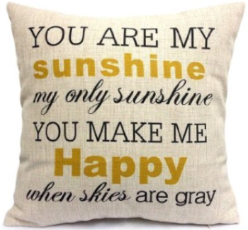 amazon sunshine pillow