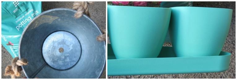 drainage and tray