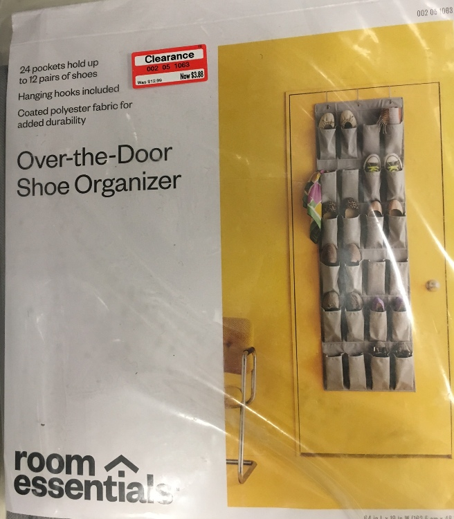 taget read clear new shoe organizer