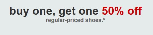 target bogo shoe deal pic