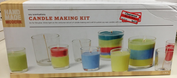 target clear candle kit