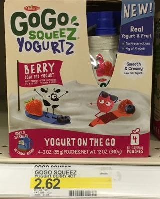 target go go yogurt