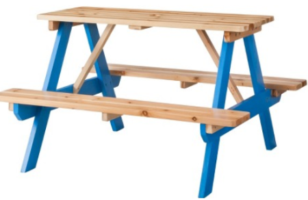 Unique target kids picnic table pic
