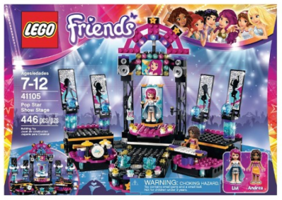 target lego friend pop star