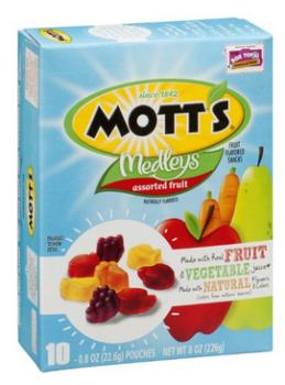 target motts fruit snacks