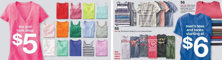 target pic ad clothes