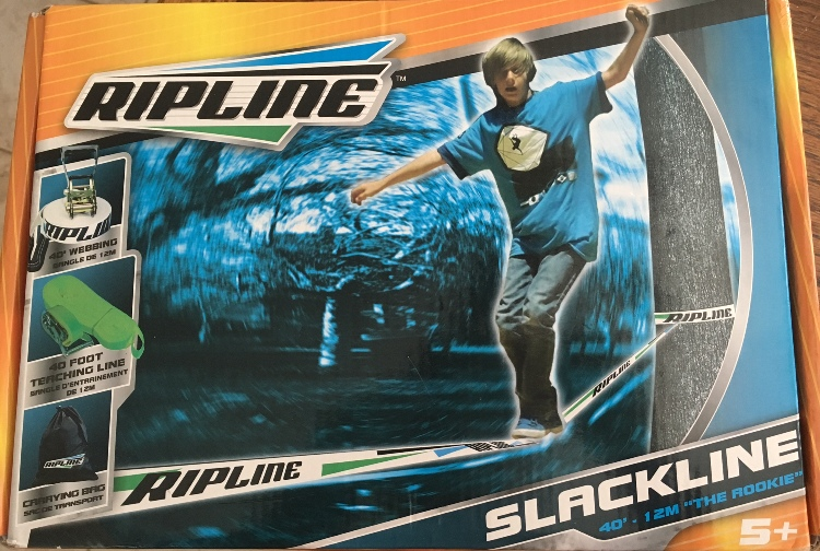 target read clear new slackline