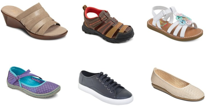 target shoe collage 1