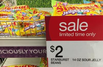 target starburst candy