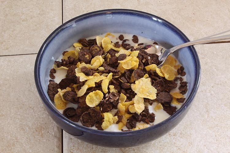 Breakfast Honey Bunches of Oats
