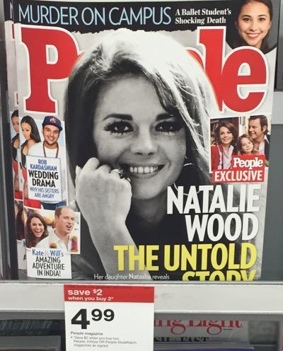 People magazine at Target