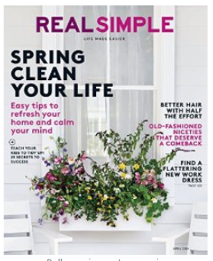 amazon real simple magazine