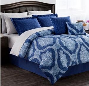 Ideal macy bed bag blue