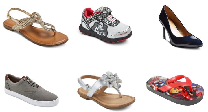 target bogo shoe collage 1