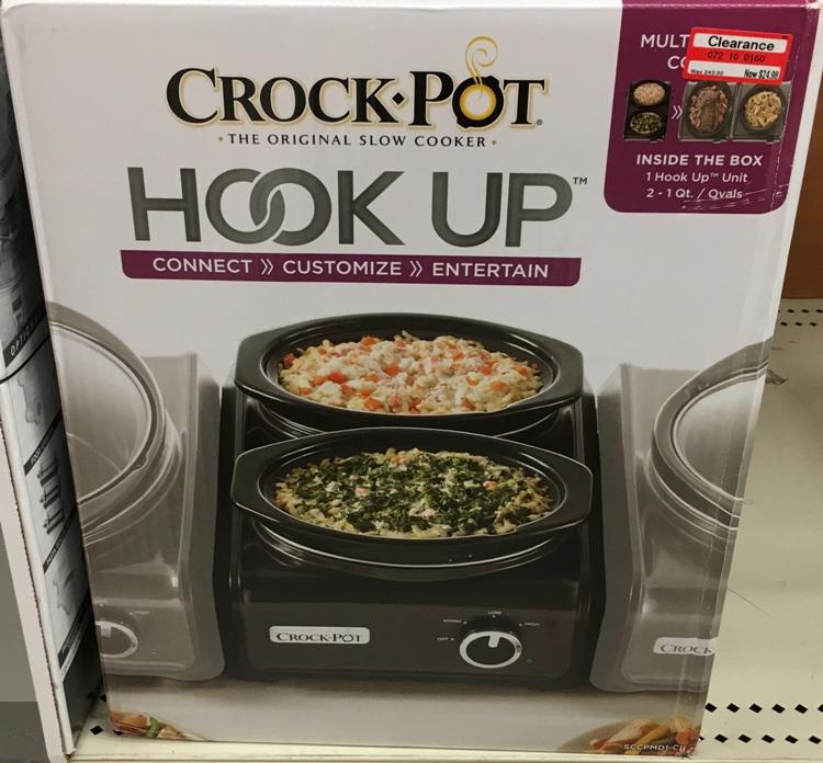 target clear crock pot 1 50