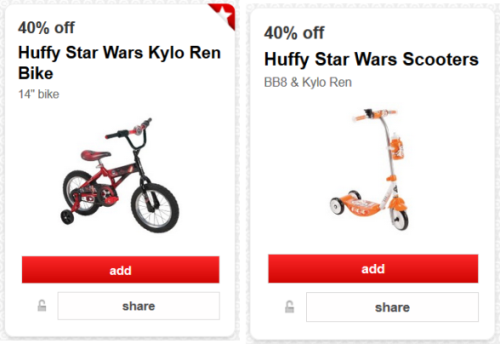 target cw bike scooter