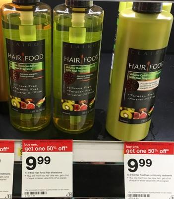 target hair food