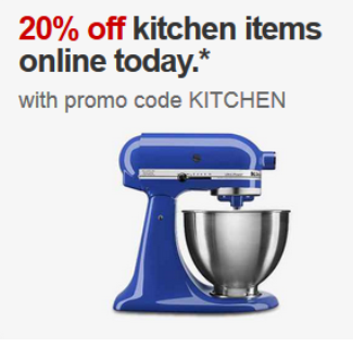 target kitchen new deal today
