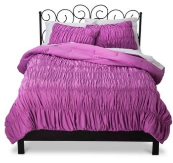 target purple bed