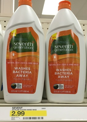 target seventh dish soap
