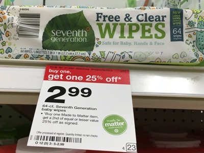 target seventh wipe