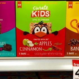 Curate & Curate Kids Nutrition Bars + Target Gift Card Offer