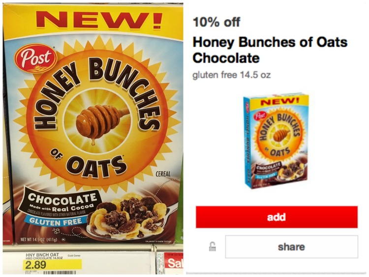 Target Honey Bunches of Oats