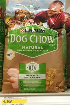 target dog chow