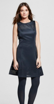 target women dress black