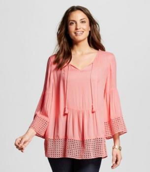 target women pink shirt 1