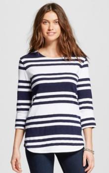 target women stripe shirt