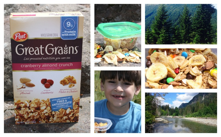 Great Grains Trail Mix outdoors