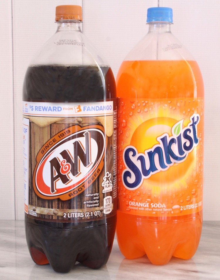 A&W and Sunkist