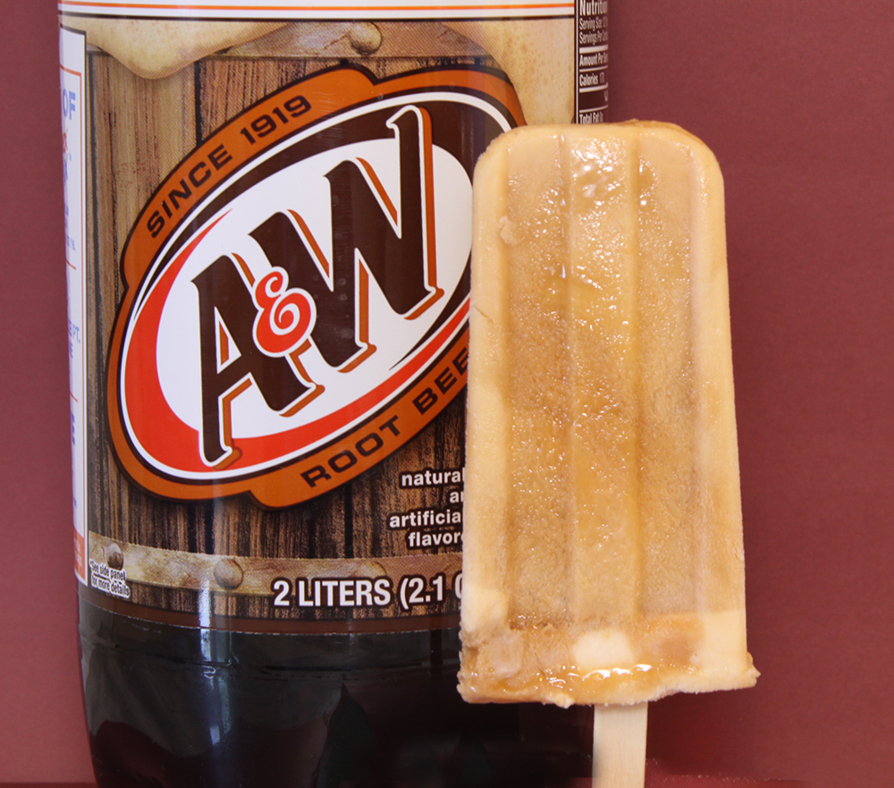 A&W Root Beer Float Pops