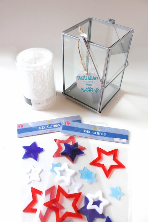 Patriotic Candle Holder   Target Dollar Spot DIY