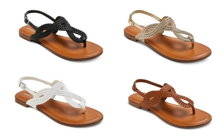 d3c24578fb5 Target.com  Merona Women s Sandals only  11.99