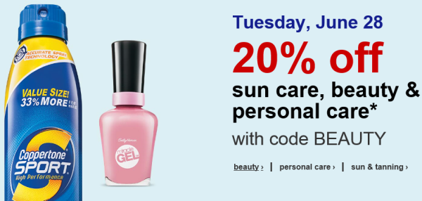 target beauty deal pic