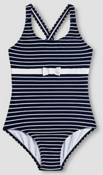 target girl black stripe