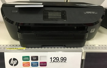 target hp printer