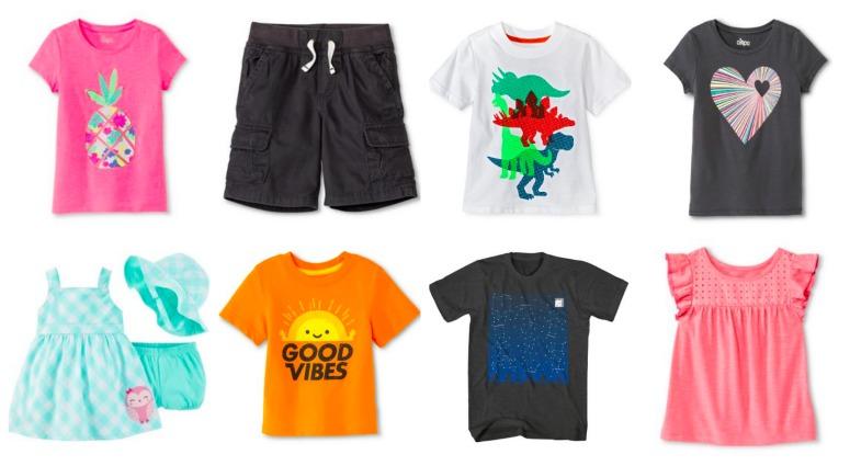 target kids clothing