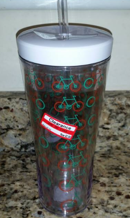 target read clear brandy cup