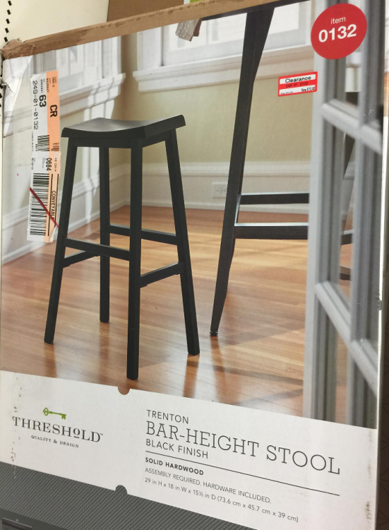 target read clear stool