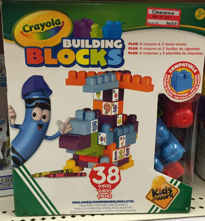 target toy clear crayola