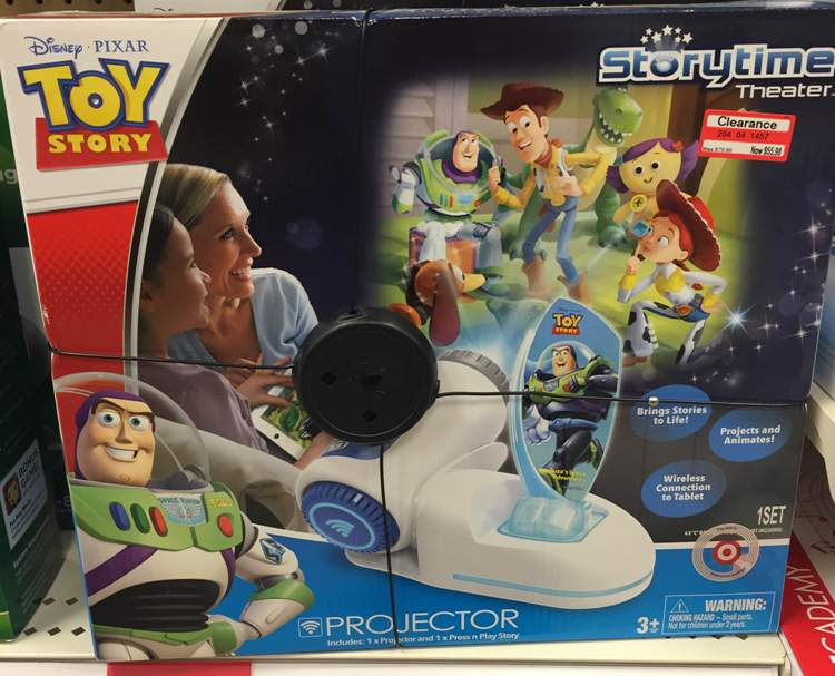 target toy clear disney storytime theater