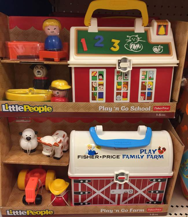 target toy clear little people