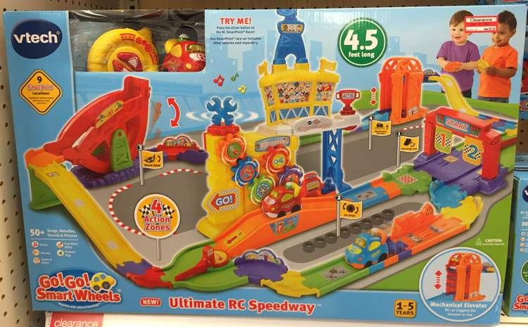 target toy clear vtech speedway