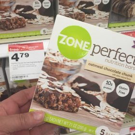 Target: Zone Perfect Bars Buy 3 Get $5 Gift Card