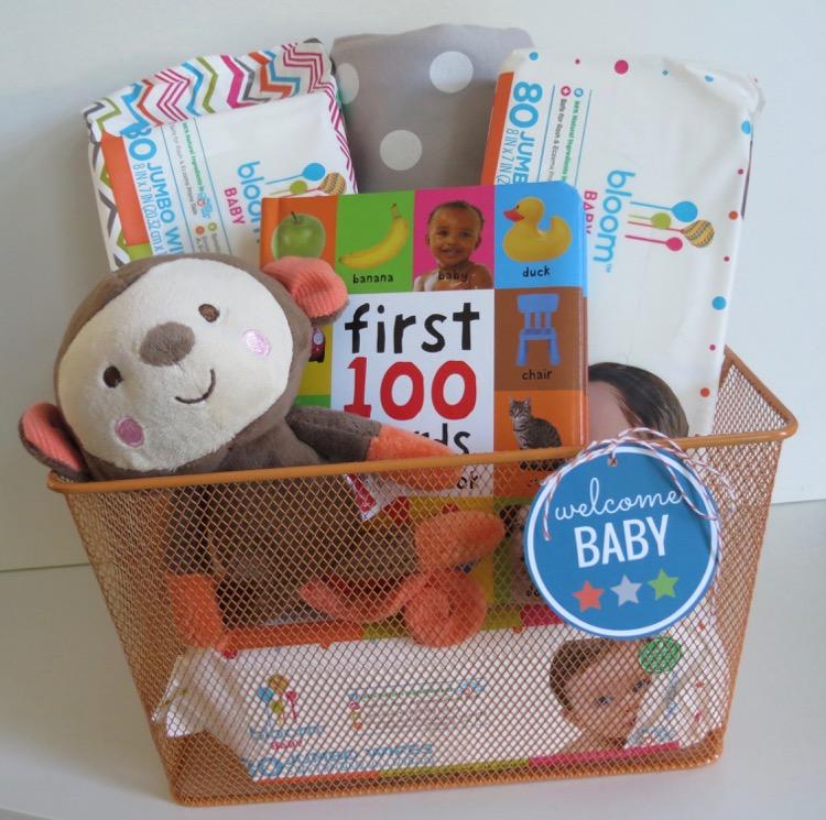 Bloom BABY Natural Wipes & Gift Basket